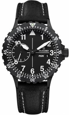 Damasko Watch DK 14 Black PVD #add-content #bezel-bidirectional #bracelet-strap-leather #brand-damasko #case-depth-14-2mm #case-material-black-pvd #case-width-42mm #date-yes #day-yes #delivery-timescale-1-2-weeks #dial-colour-black #gender-mens #luxury #movement-automatic #new-product-yes #official-stockist-for-damasko-watches #packaging-damasko-watch-packaging #style-dress #subcat-dk-10-101-11-14-15 #supplier-model-no-dk-14-black-leather-pin #warranty-damasko-official-2-year-guarantee…