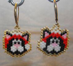 Santa Paws earrings
