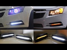 Super Bright Mercedes C E Class Style amber/white switchback high power LED daytime running light lamps direct fit for Chevrolet Chevy Cruze. Amber Led Lights, 2014 Chevy, Direct Lighting, Kia Optima, Chevrolet Cruze, Cute Cars, Power Led, Car Lights, Lamp Light
