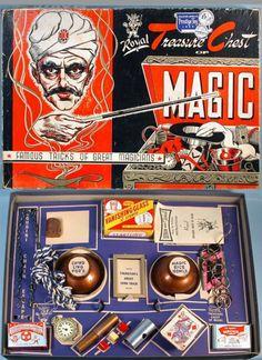 PRESTIGE: 1955 Royal Treasure Chest MAGIC Kit