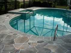 How to get your pool deck repaired. http://flagstonecoatingsreviews.webnode.com/news/backyard-projects-with-concrete-coatings/