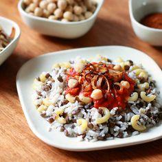 Koshari (National Dish of Egypt) Recipe - The Daring Gourmet