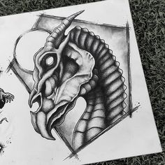 *Design available* Hey ya Harry Potter nerds ✨ I had soo much fun exploring this concept! Me if you would like this Thestral, it would… Harry Potter Spells, Harry Potter Art, Harry Potter Drawings, Harry Potter Tattoos Sleeve, Thestral Tattoo, Werewolf Tattoo, Hey Ya, Creature Drawings, Drawing Practice