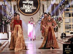 HSY Bridal Collection At Pantene Bridal Couture Week Lahore
