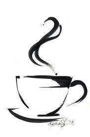Resultado de imagem para coffee cup tattoo