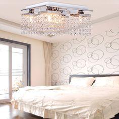 Modern Kristall Hängeleuchte Kronleuchter Deckenleuchte Lampe 5 Lichts | eBay