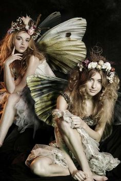 These fairies depict the actual fairies that were in Hoffman's movie. The supernatural plays a large part in this play.