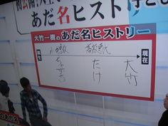 さまーず大竹さん の字 / さまぁ~ず大竹さん の字 / さまぁ~ず大竹さん の字 / さまぁ~ず大竹さん の字