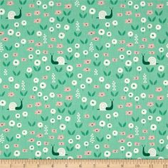 Cloud 9 Organic Park Life Sunday Stroll Green Fabric By The Yard Heirloom Sewing, Cloud 9, Cool Fabric, Green Fabric, Hunter Green, Girl Nursery, Fabric Patterns, Blush Pink, Printing On Fabric