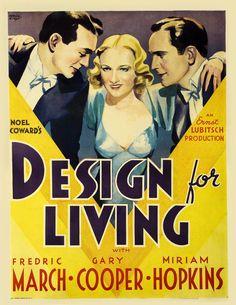 Design for Living (Ernst Lubitsch, 1933)