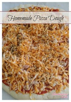 Homemade Pizza Dough | The Homesteading Hippy