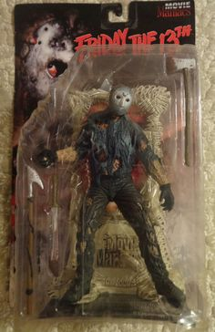 Movie Maniacs Friday The 13th Jason Voorhees Action Figure #McFarlaneToys