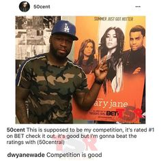 50 Cent Comes For Gabrielle Union On IG, Dwayne Wade Claps Back (PHOTO) | iHeartRadio