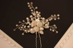 Bridal Hairpin Wedding hairpin hair accessory FREE SHIPPING