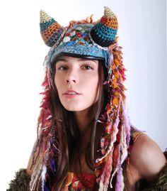UTHA SHAMAN of Oz // women's hat  #headdress // by UTHAhats