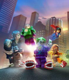 The immense co-op platform fun of LEGO Batman 3 hits shelves next week. Here's five reasons you should be excited. Lego Dc Comics, Lego Marvel, Big Lego, Cool Lego, Lego Batman Party, Lego Spiderman, Droides Star Wars, La Grande Aventure Lego, Batman Arkham City