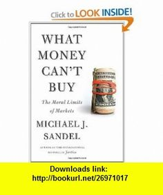 Michael Sandel What Money Cant Buy Pdf