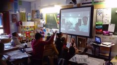 classeCMChampagneux @CMChampagneux @ruben_roland #mysterySkype #SkypeaThon We were donc pleased to speak with your students and you 💕 10700km and so much love 💕