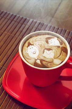 Lattee art