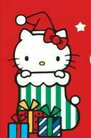 Hello kitty Christmas And New Year, Christmas Themes, Christmas Cookies, Christmas Cards, Merry Christmas, Xmas, Hello Kitty Christmas, Hello Kitty Wallpaper, Sarah Kay