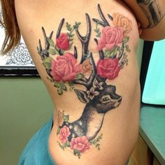 #deer #tattoo