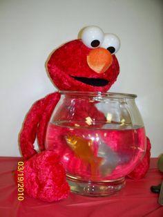 Elmo and Dorthy. Landon may need a Dorthy at his party ;)