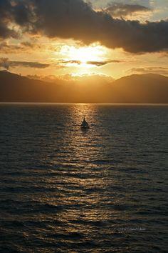 Sunset in Labadee. Simply sensational!!
