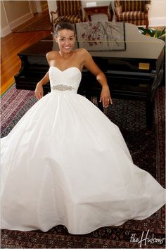 Beautiful Wedding Dress!  Love the top.