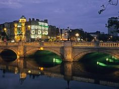 O'Connell Bridge, Dublin Ireland-Want to go here sooo bad! Oh The Places You'll Go, Places Ive Been, Places To Visit, Europe Travel Tips, Places To Travel, Dream Vacations, Vacation Spots, Yosemite National Park, National Parks