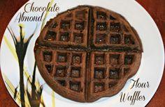 Chocolate Almond Flour Waffles (S)