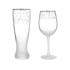 zodiac constellation glasses... for $85 #uncommongoods
