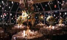 Tavern on the Green Tavern On The Green, Green Wedding, Nyc, Christmas Tree, Wedding Ideas, Weddings, Table Decorations, Holiday Decor, Home Decor