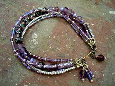 Bracelet Bohème / Gypsy Bracelet / Bijoux Gypsy / Boho Chic / Bracelet multi-rangs / Bohème Bracelet / Bohème bijoux /