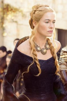 "Cersei Lannister. ""The more people you love, the weaker you are. You'll do things for them that you know you shouldn't do. You'll act the fool to make them happy, to keep them safe. Love no one but your children.""-George R.R. Martin, A Man Without Horror"
