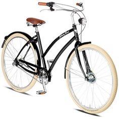 Rower Miejski Damski Cruiser Johnny Loco. Niezawodność połączona z pięknym wyglądem. Czego chcieć więcej? http://damelo.pl/damskie-rowery-miejskie-cruiser/431-rower.html