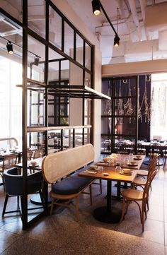 The new place to eat dumplings in Sydney: The large space seats 270 people but is divided by steel-framed windows into numerous intimate dining zones.