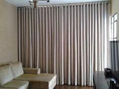 cortinas modernas con ajalillos y barra de acero