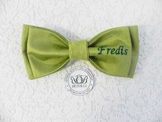 Personalized bow tie for Fredis Handmade original gift