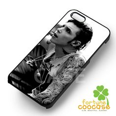 andy biersack on stage cool - 1nny for iPhone 6S case, iPhone 5s case, iPhone 6 case, iPhone 4S, Samsung S6 Edge