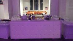 Bara de bar en el museo  de automóviles de Malaga.