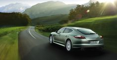 The Panamera S Hybrid has a parallel full hybrid drive: a 3.0-liter, supercharged V6 engine with an electric motor producing a total output of 380 horsepower. The hybrid drive offers several driving modes, including an all-electric mode for emissions-free driving. Impressively, the Panamera S Hybrid accelerates from 0-60 mph in 5.7 seconds, and has a top track speed of 167 mph (when equipped with optional summer tires with adequate speed rating).