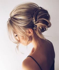 Long wedding updo hairstyles from tonyastylist #weddingupdos #weddinghairstyles #bride #wedding ❤️ http://www.deerpearlflowers.com/chic-wedding-hair-updos-for-elegant-brides/