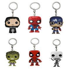 Marvel Funky keychain - Free Shipping