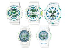 G-Shock Unveils a Summer-Ready Series in White and Green