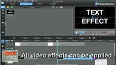 PowerDirector - Text Effects