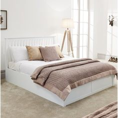 decor urban outfitters decor rugs trending in bedroom decor decor shelves decor dublin decor hipster decor hipster bedroom decor Dream Rooms, Dream Bedroom, Home Bedroom, Bedroom Decor, Bedroom Ideas, Upholstered Bed Frame, Ottoman Bed, Home Additions, My New Room