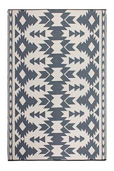 Fab Habitat Reversible, Indoor/Outdoor Weather Resistant Floor Mat/Rug - Miramar - Gray (3 ft x 5 ft).   For product info please visit:  https://homeandgarden.today/fab-habitat-reversible-indoor-outdoor-weather-resistant-floor-mat-rug-miramar-gray-3-ft-x-5-ft/