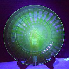 Anchor Hocking Vaseline Uranium Glass by ShellysSelectSalvage