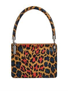 Christopher Kane Leopard-print leather shoulder bag