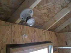 solar powered chicken coop